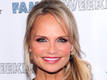Kristin Chenoweth selling T-shirts to...
