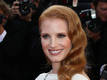 Jessica Chastain won't talk romance...