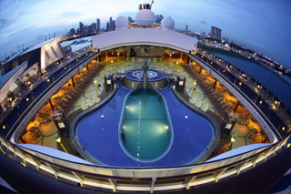 On a cruise, you can truly get away from it all