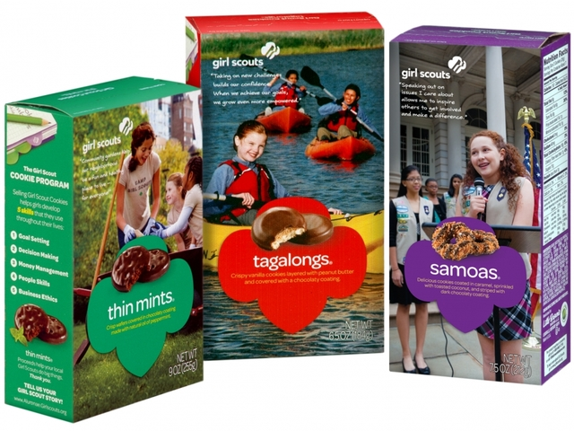 thin mints now a click away as girl scout cookies go
