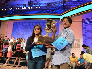 Scripps National Spelling Bee co-champs crowned