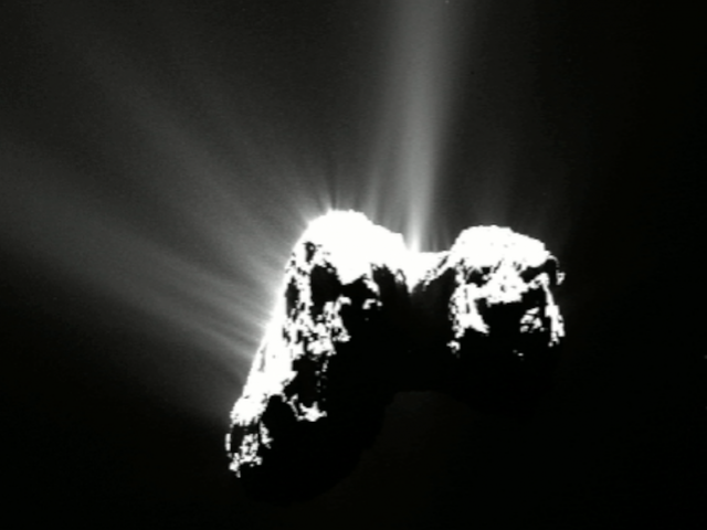 In a first, oxygen found on a comet