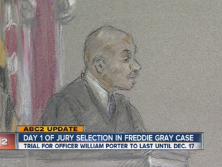 First trial begins in Freddie Gray case