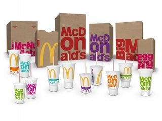 McDonald's packaging gets a colorful makeover