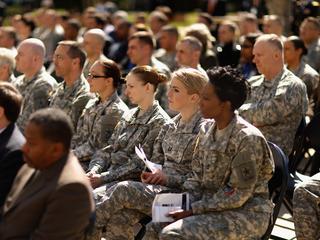 Generals push for women draft registration