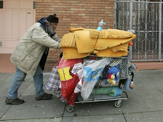Homeless count reports 69% rise in tent living