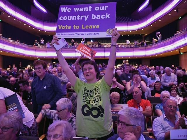 'Remain in EU' vote takes lead, show British opinion polls
