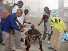 Gunmen take hostages after blast in Somalia