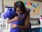 First lady announces funding for education