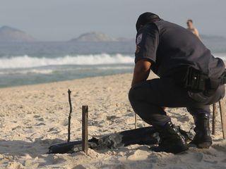 Body parts wash ashore near Rio Olympic venue