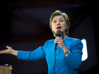 Clinton calls RNC 'perversely flattering'