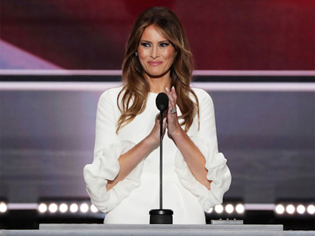 Melania Trump Gets Her Official White House Portrait