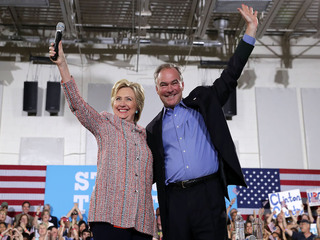 Tim Kaine announced as Clinton's VP pick