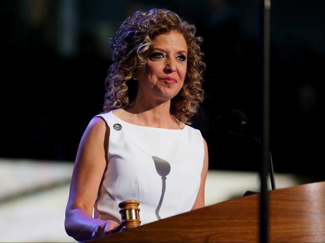 Debbie Wasserman Schultz blasted by loud, angry crowd