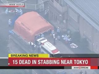 At least 15 dead after knife attack in Japan