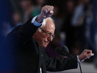 Sanders gets emotional reception at DNC