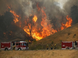 Most evacuations canceled for Calif. wildfire
