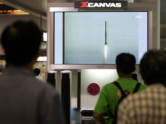 North Korea launches another missile, this time toward Japan