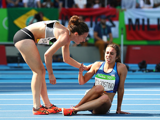 Olympics: Runner ran over a mile with torn ACL