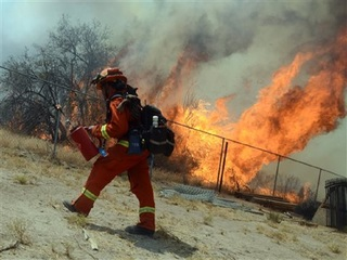 Wildfire burns with strongest ferocity ever seen