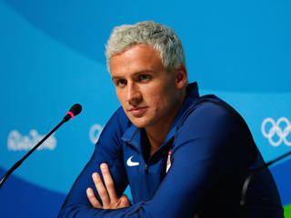 U.S. Olympic swimmer Ryan Lochte apologizes