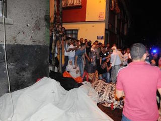 51 killed in bombing at a wedding in Turkey
