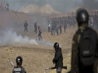 Striking miners kill deputy minister in Bolivia