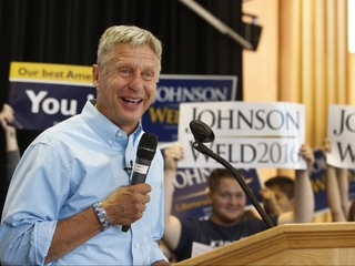Gary Johnson says we must inhabit other planets