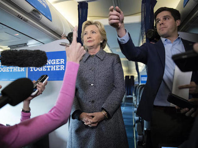 Clinton is 'confident' this new email probe won't lead to anything