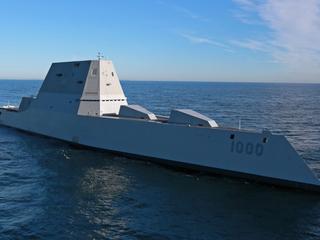 USS Zumwalt arrives in San Diego today