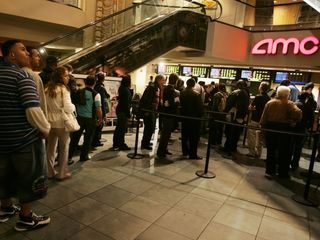 Box office slump hurting AMC theaters