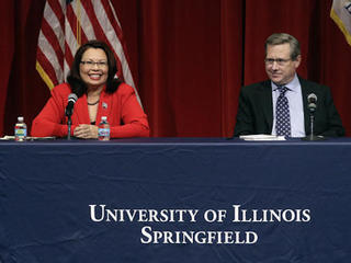 Senate race in Illinois features heated debate
