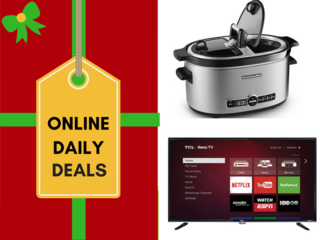 Holiday deals of the day for December 1