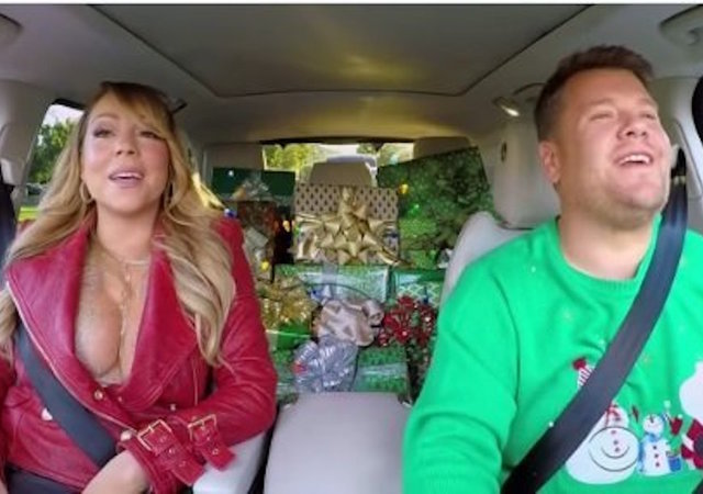 Mariah Carey Joins James Corden's Christmas Carpool Karaoke Turned Star-Studded Sing-Along