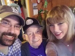 Taylor Swift shocks WWII vet over the holiday