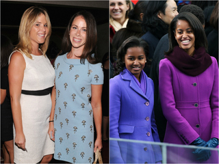 Bush twins write sweet letter to Obama sisters
