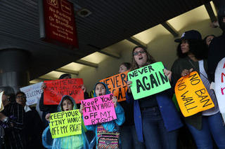 Photos: Protests erupt nationwide over immigrati