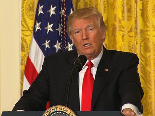 Trump asks black reporter to set up CBC meeting