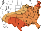 Spring outlook looks warm for most