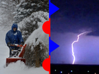 Blizzard, severe storms crossing the US