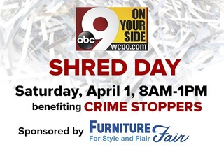 9 On Your Side Shred Day at Furniture Fair...