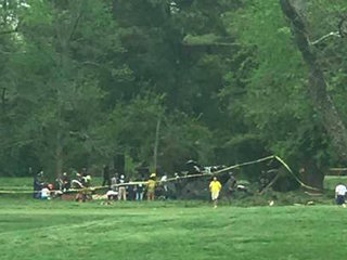 Military helicopter crashes in Maryland