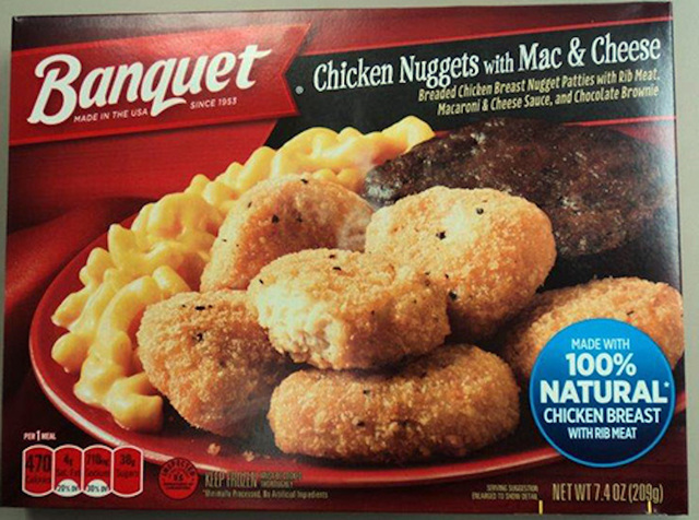 Frozen Banquet meals recalled over salmonella fears
