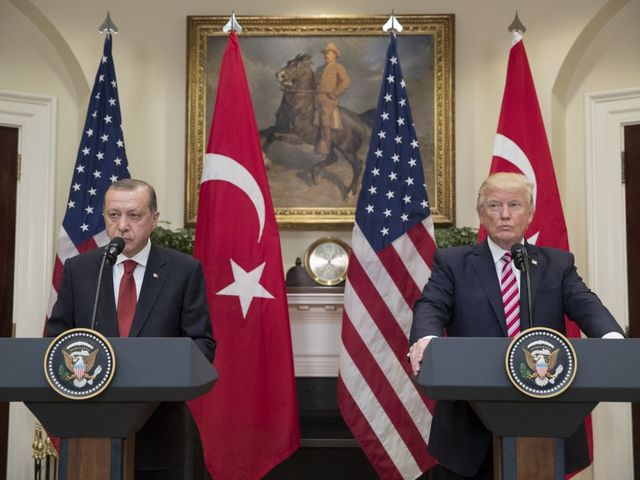 Nine injured in altercation at Turkish Embassy in Washington