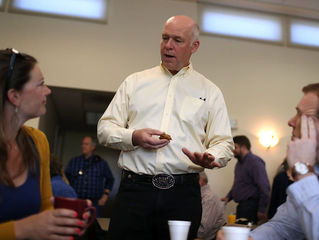 Reporter: I never touched candidate Gianforte