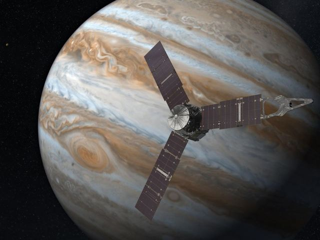Monstrous 'Earth-sized' cyclones detected on Jupiter