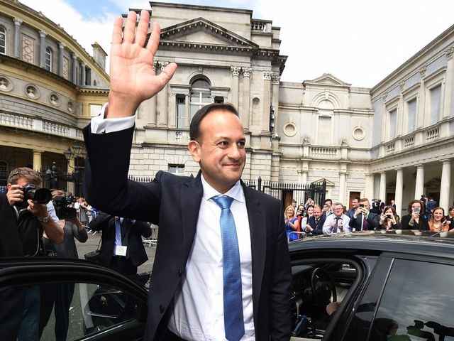 Ireland's first gay PM enters office