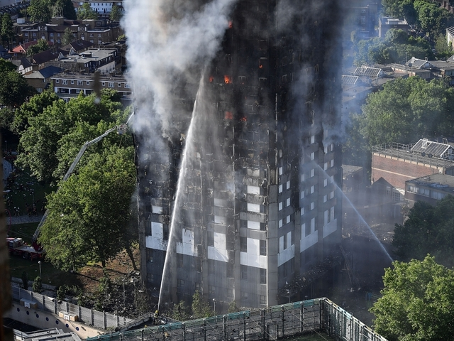 London fire: 58 missing presumed dead