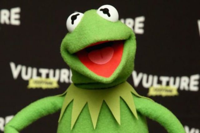 The new voice of Kermit the Frog makes his debut online