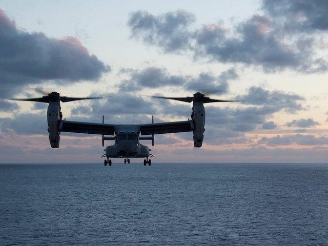 Defense Ministry tolerates U.S. resumption of Osprey flights